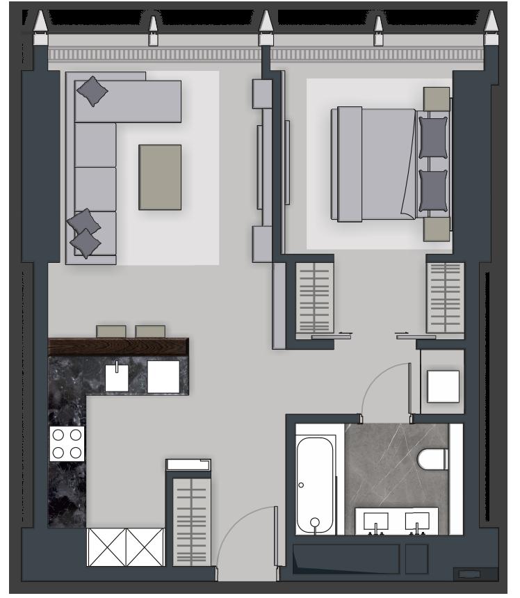 Types Of Apartments Apartment Decorating Ideas
